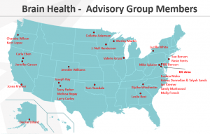Brain Health - Advisory Group Members